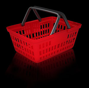 It´s easy to add a complete ecommerce shopping facility to your Red Paris site